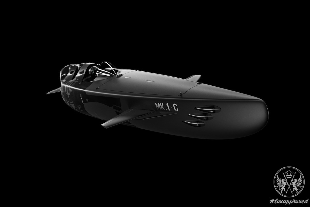 Ortega Submersibles Presents Mk. 1C, a Multi-purpose Submersible Vessel