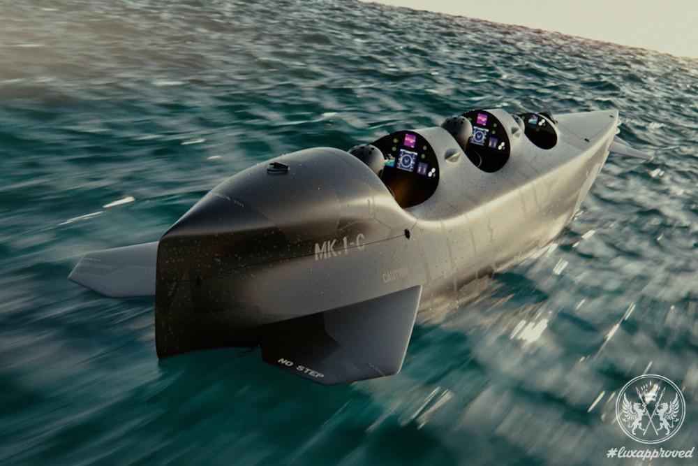 Ortega Submersibles Presents Mk. 1C, a Multi-purpose Submersible Vessel
