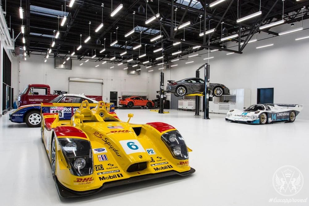 The $60 Million Porsche Experience Center in Los Angeles Is Open Now