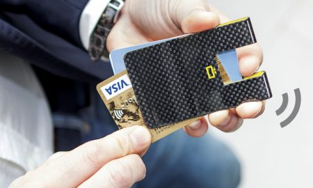 Meet the Slimmest Wallet Ever: Carbon Card Clip