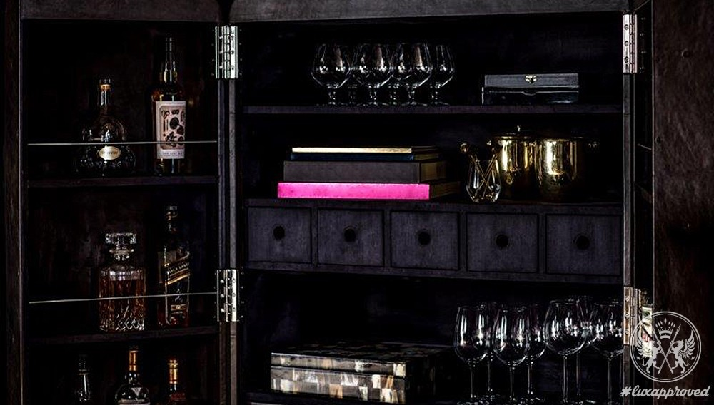 Timothy Oulton's Ultimate Bar Cabinet Comes with an Award-Winning Bartender