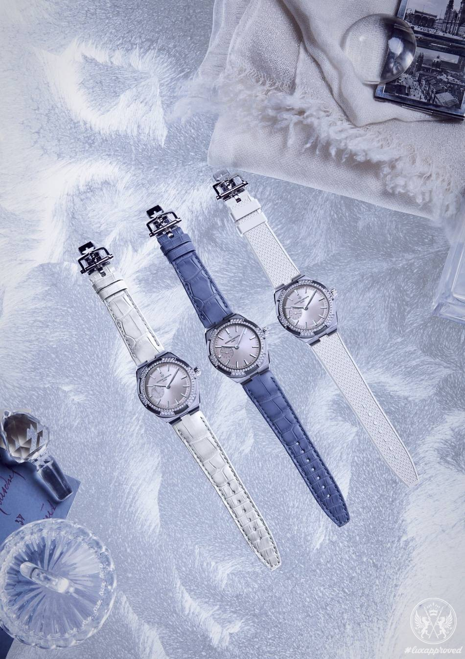 Vacheron Constantin Overseas Collection Is Refined with Stylish Straps and Bracelets