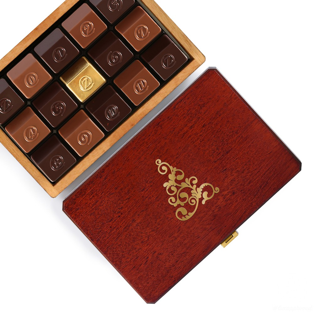 zChocolat Offers Gold-covered Chocolates in New 2016 Christmas Collection