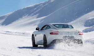 Aston Martin Art of Living Ice Drive in Courmayeur
