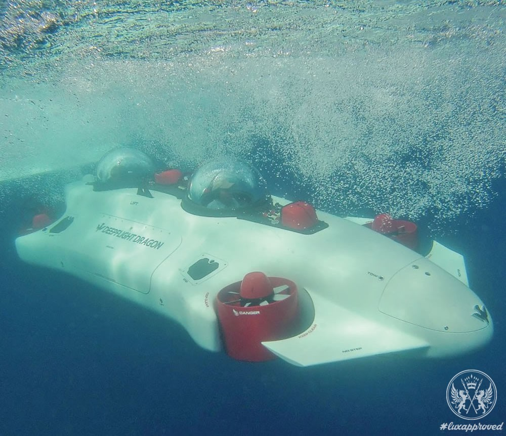 The $1.5 Million Undersea Aquahoverer Is Your Personal Submarine
