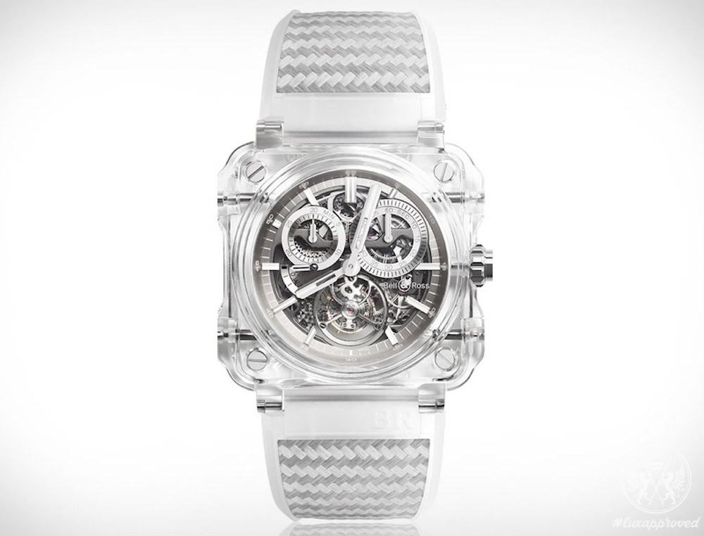 Bell & Ross BR-X1 Tourbillon Sapphire Watch is Limited to 5 Pieces