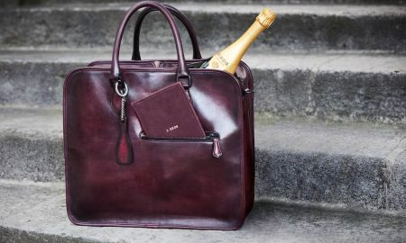 Berluti Pour Krug Limited-Edition Bag for Champagne