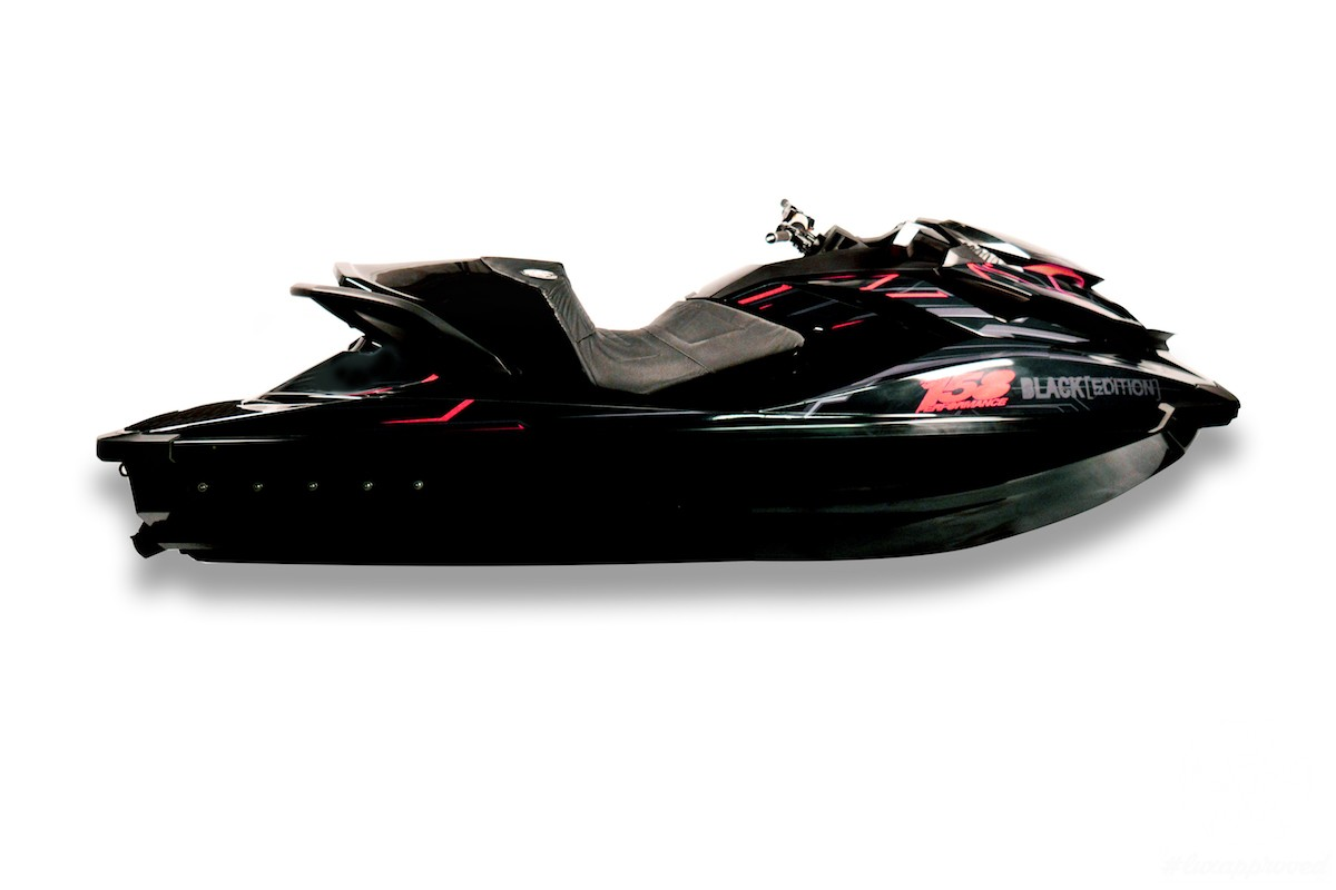 Superyacht Tenders and Toys' Black Edition Jet Ski Is Faster than Ferrari 458 Spider