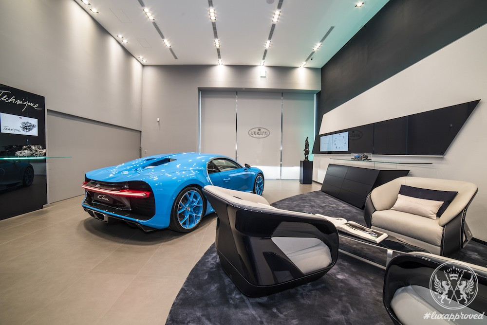 Chiron Arrives to Bugatti Taipei