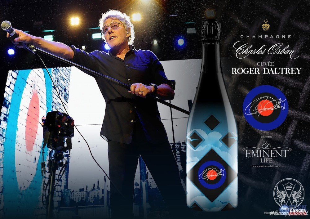 Champagne Charles Orban, Cuvée Roger Daltrey & Ice Bucket