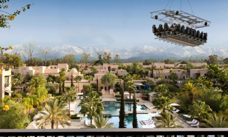 Four Seasons Resort Marrakech Invites You to Celebrate New Year in the Sky