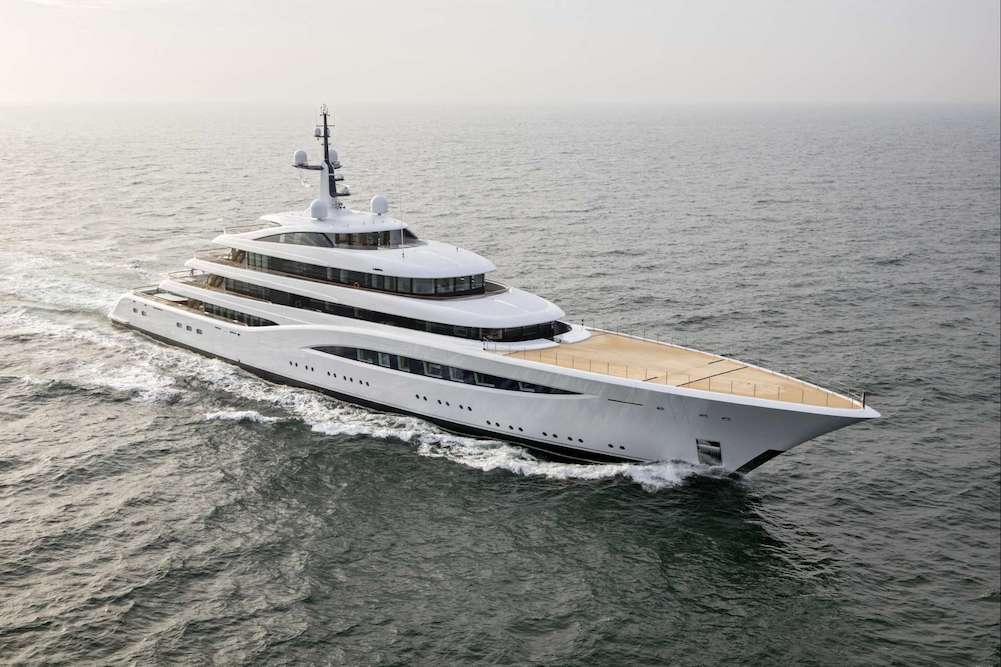 Explore Vertigo, Feadship's New Superyacht