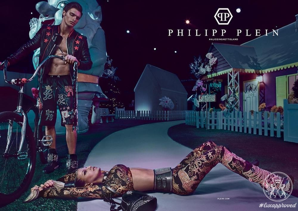 Fergie for Philipp Plein Spring/Summer 2017 Campaign