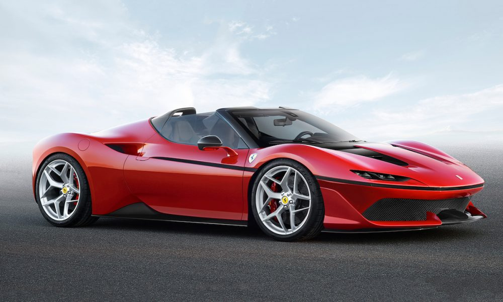 Ferrari Celebrates its 50th year Anniversary in Japan with the Bespoke J50