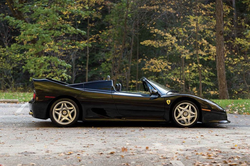 RM Sotheby's To Auction Off the Ultra-Rare Ferrari Nero F50