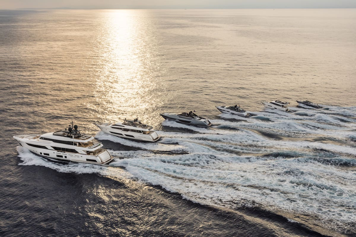 Ferretti Group is Recognized as a World Leader in Yachting
