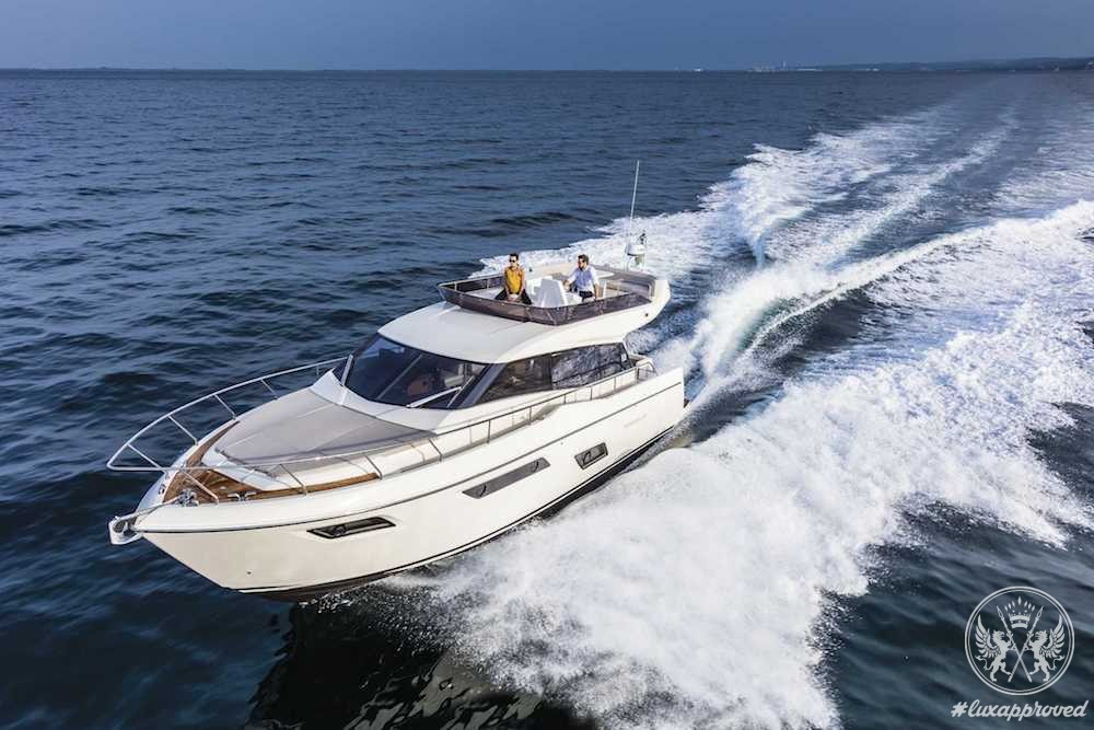 Ferretti Yachts 450 is on Display at Salon Nautique de Paris