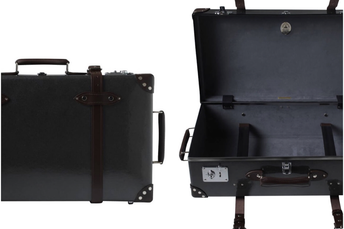 Globe-Trotter Reveals Caviar Finish for Its Deluxe Suitcase Collection