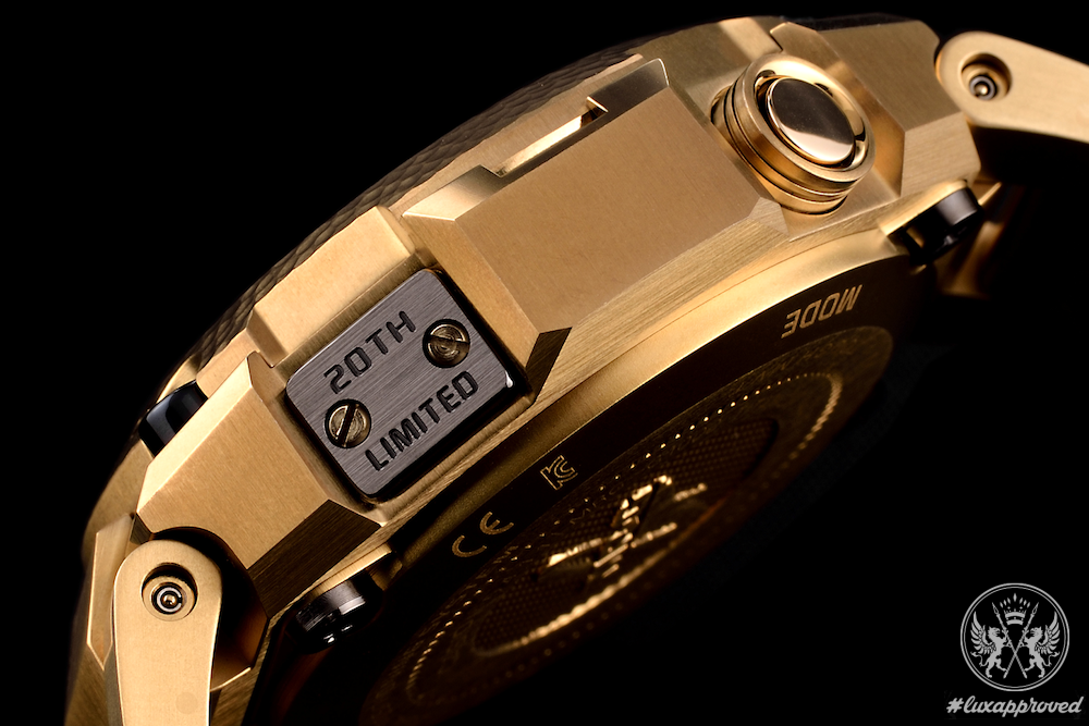 G-SHOCK Reveals the lavish MR-G GPS Hybrid Gold Hammer Tone Timepiece