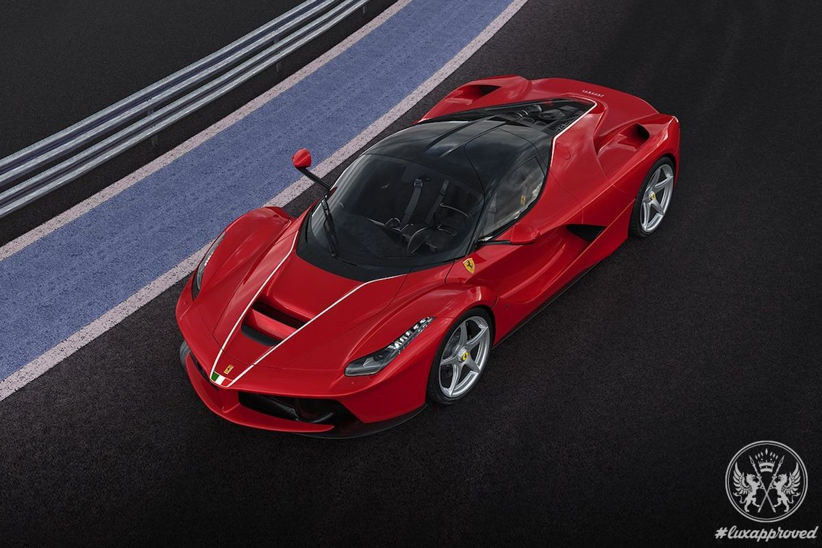 Unique LaFerrari Is Auctioned Off for $7Million to Benefit Central Italy
