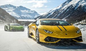 "Lamborghini Winter Accademia Presents ""Twelve Hours of Livigno"" Program"