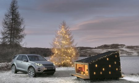 Land Rover Has Created a Compact Wilderness Cabin