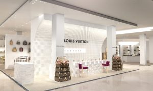 The First Les Parfums Louis Vuitton Pop-Up Store Opens at South Coast Plaza in Costa Mesa