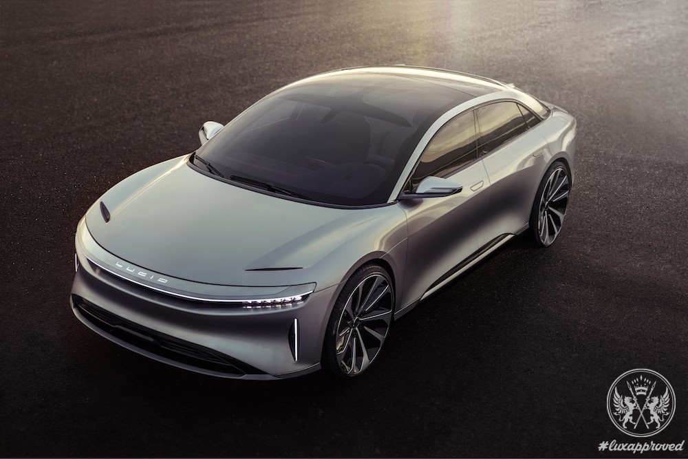Lucid Motors Reveals Electric Vehicle Lucid Air