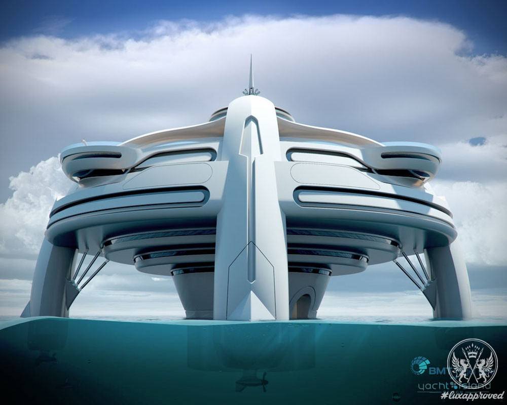 "This Futuristic Floating Island ""Project Utopia"" Boasts Enough Space to Create Micronation"