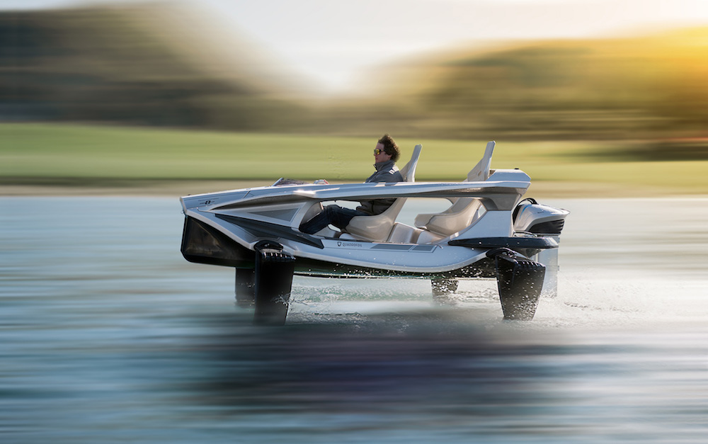 A $30,000 Quadrofoil Q2S Personal Watercraft is Simply Amazing