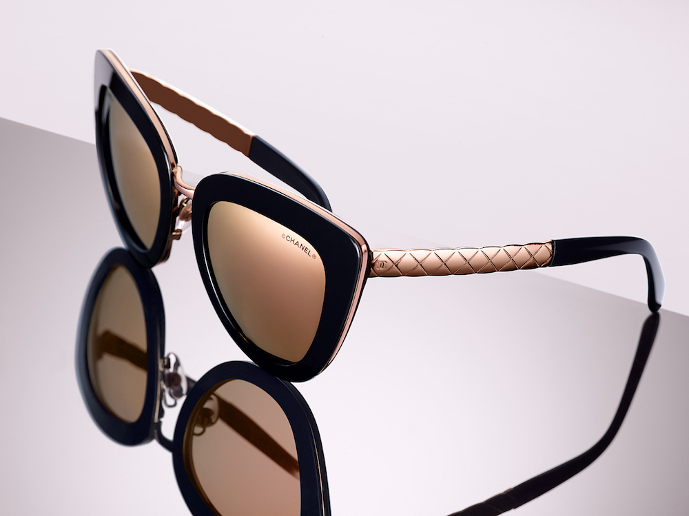 Chanel Quilted Crush Collection of Sunglasses Is Inspired by Jewels