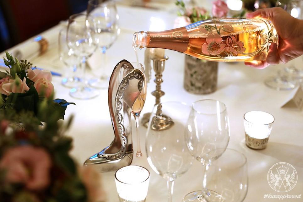 The Rupert Sanderson Champagne Slipper for 34 Mayfair
