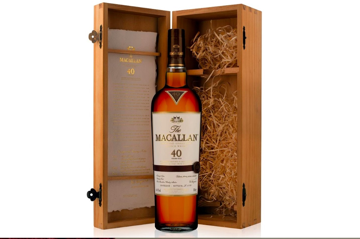 The Macallan 40 Years Old Whisky Retails at $8,000 Per Bottle