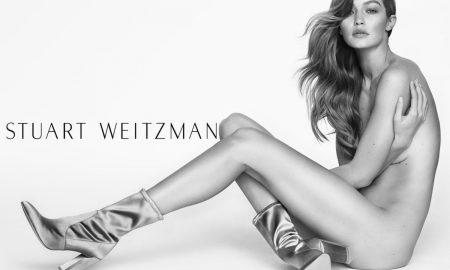 Gigi Hadid for Stuart Weitzman Spring 2017 Campaign