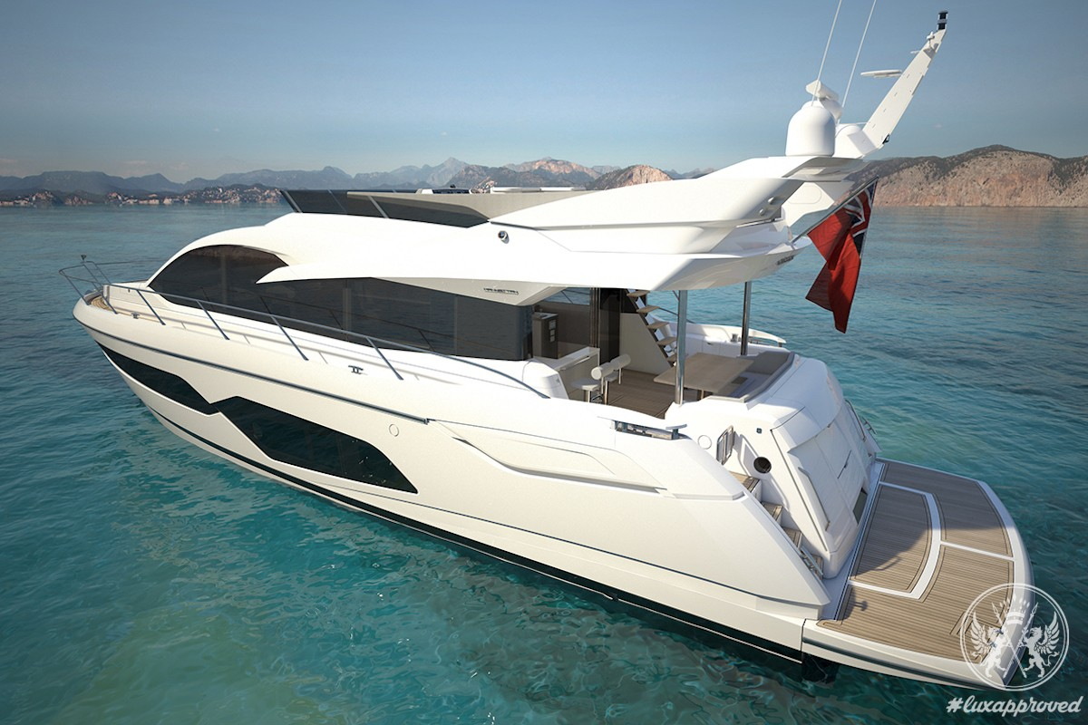 Sunseeker International's New Manhattan 66 Yacht to Debut at the London Boat Show