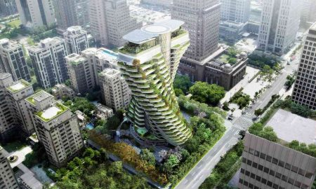 Tao Zhu Yin Yuan Residential Tower by Vincent Callebaut Architectures