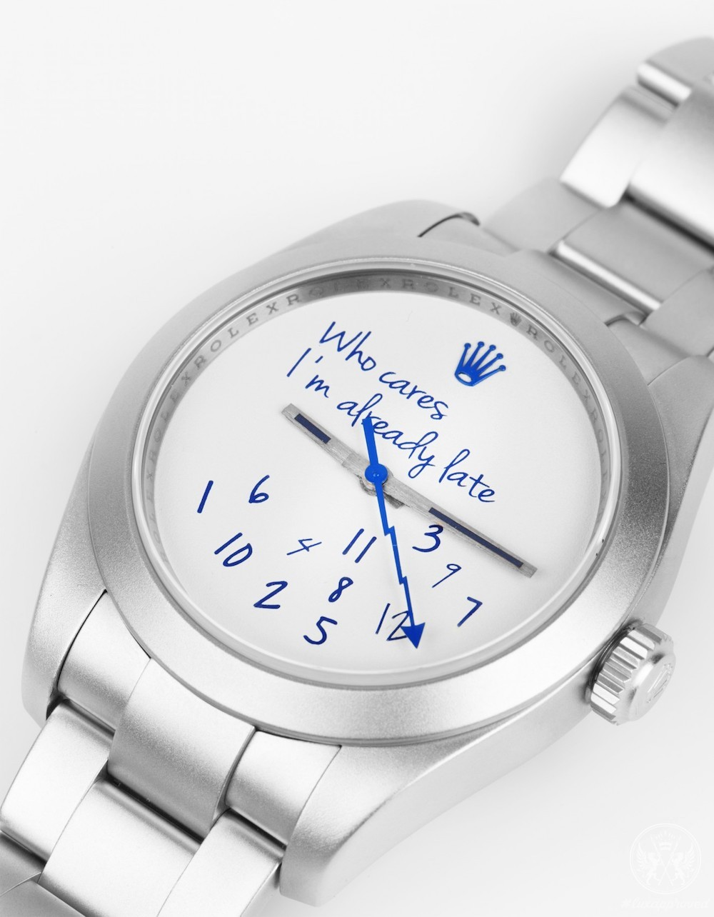 "Mad Paris X colette Collaborate on ""Who Cares Edition"" of the Rolex Milgauss"