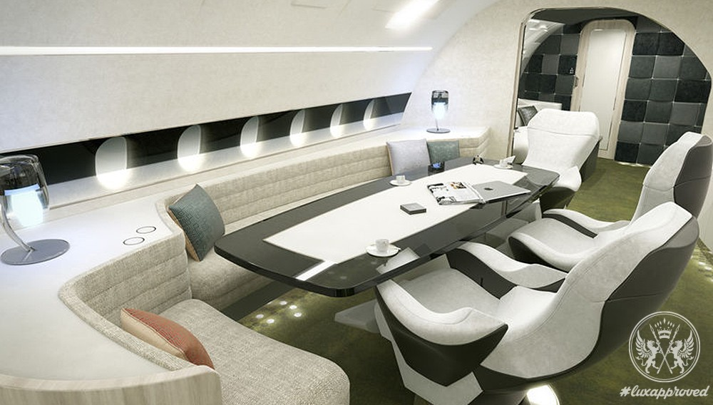 Airbus Unveils the Melody Cabin Concept for the ACJ320neo Family