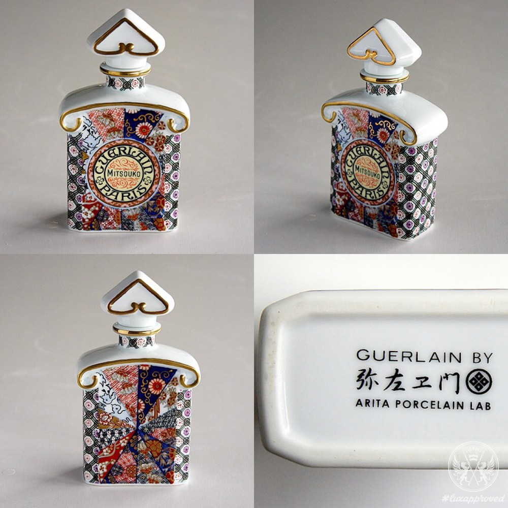 A Limited Edition Guerlain Mitsouko Bottle by Arita Porcelain Lab