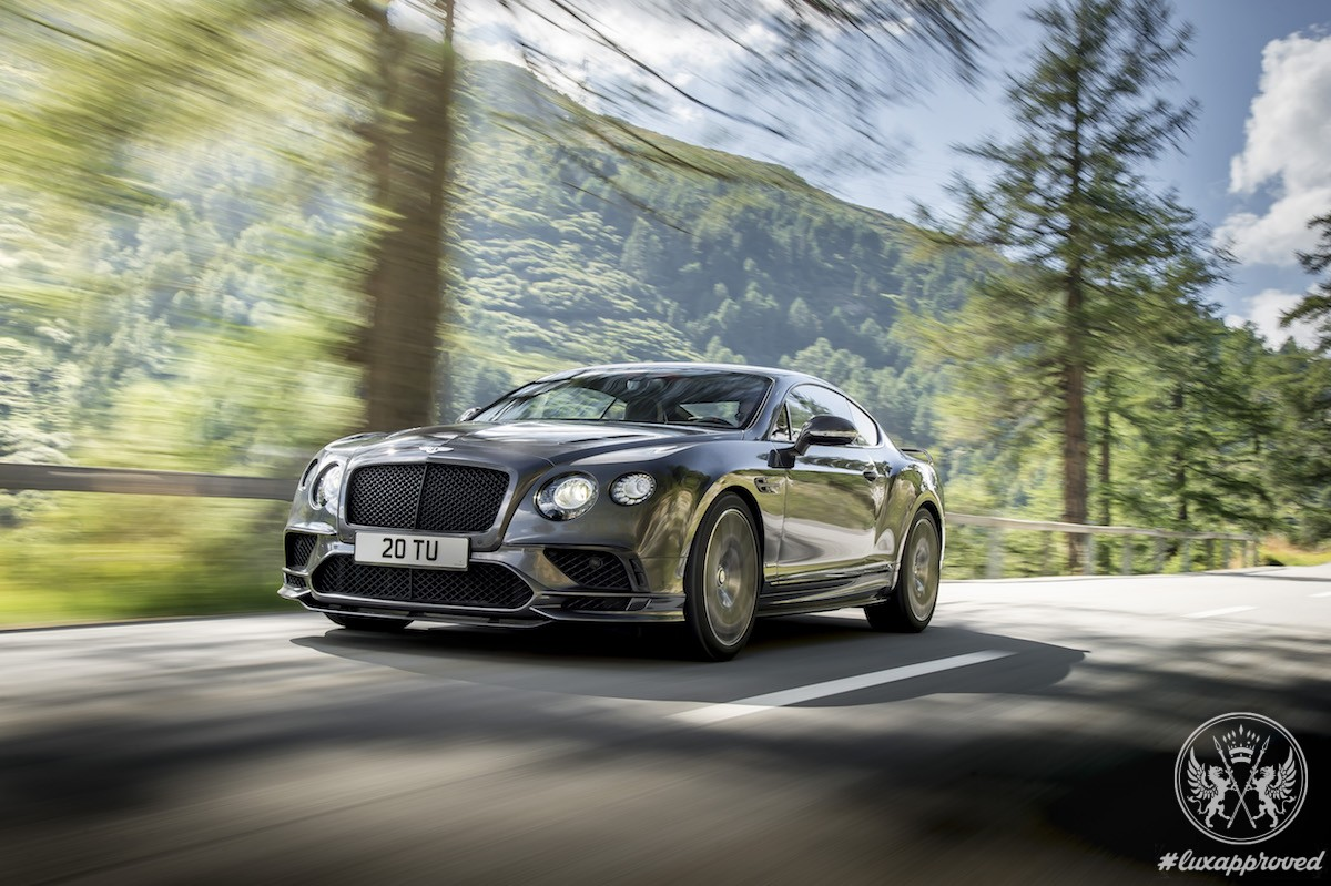 Bentley Continental Supersports is the World's Fastest Four-Seater