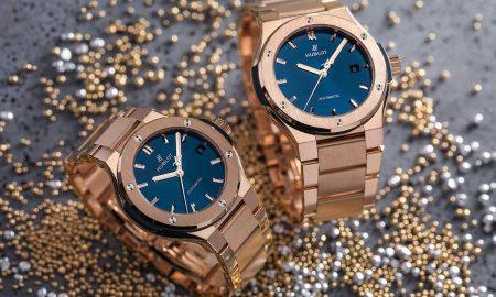 Unisex Hublot Classic Fusion Bracelet Blue