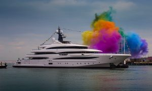 CRN Atelier for Custom Yachts Launches the 74 metre Cloud 9