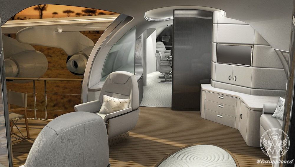Avro Business Jet Explorer Concept by Design Q