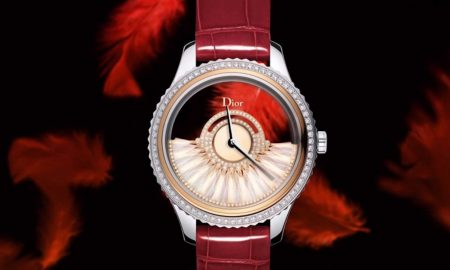Limited-Edition Dior VIII Grand Bal Plume Timepiece