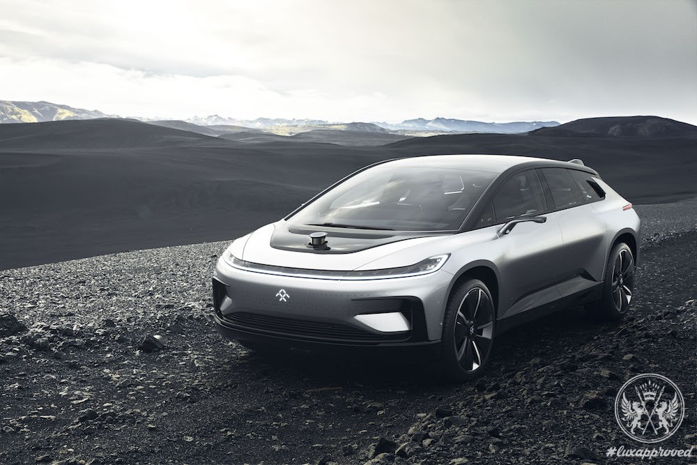 Faraday Future Has Revealed the Self-Driving Electric Vehicle FF 91