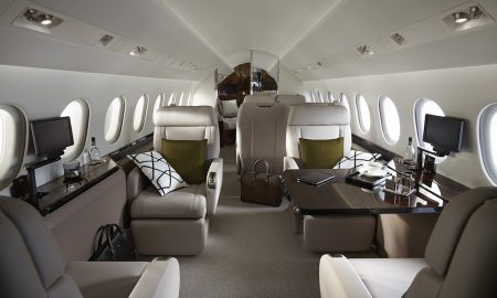 Behold a Highly Refined Cabin of Dassault's Falcon 900LX