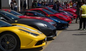 Ferrari Tribute to Targa Florio and Mille Miglia Events Celebrate the Power of the Prancing Horse