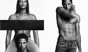 Naomi Campbell for Givenchy Jeans Spring-Summer 2017 Campaign