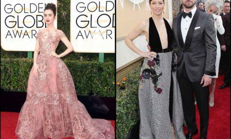 Stars shine in Salvatore Ferragamo at the 74th Golden Globe Awards