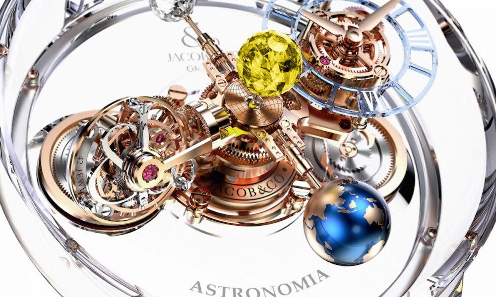 Jacob Amp Co Astronomia Flawless Watch Is Worth 1 Million